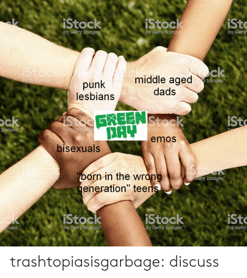 """emos: iStock  iStock  st  by Getty Imag  by Getty Imag  by Getty  middle aged  dads  Images  punk  lesbians  Stoc  EKEEN  Stoc  emos  ck  sto  Images  by Getty  bisexuals  orn in the wrón  eneration"""" tee  etty Images  Stock  by Getty Images  StockiSto  ges  by Getty Images  by Getty trashtopiasisgarbage: discuss"""