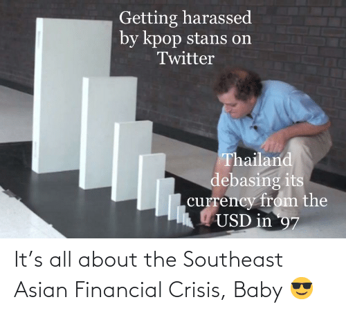 Financial: It's all about the Southeast Asian Financial Crisis, Baby 😎