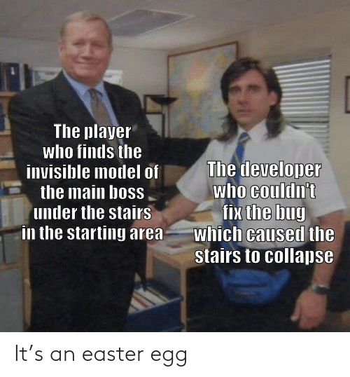Easter: It's an easter egg