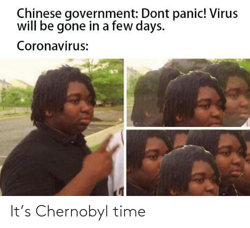chernobyl: It's Chernobyl time