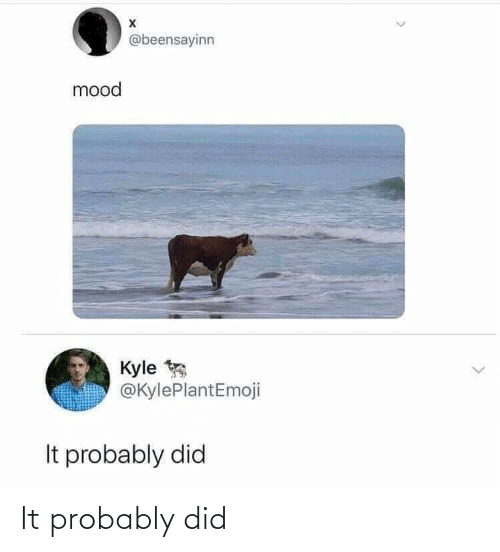 Punny: It probably did