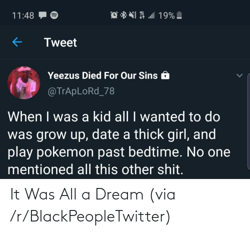 A Dream: It Was All a Dream (via /r/BlackPeopleTwitter)