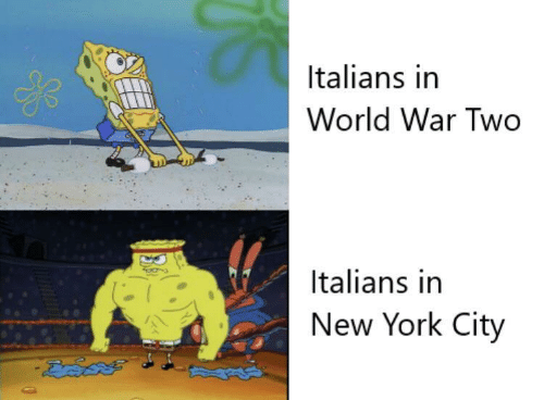 New York City: Italians in  World War Two  Italians in  New York City