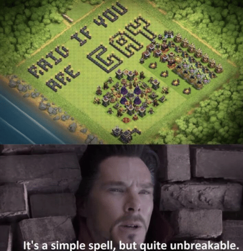 unbreakable: It's a simple spell, but quite unbreakable.