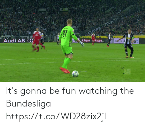 Gonna Be: It's gonna be fun watching the Bundesliga   https://t.co/WD28zix2jl