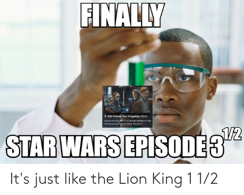 1 2: It's just like the Lion King 1 1/2
