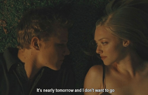 Tomorrow,  Want, and  Dont: It's nearly tomorrow and I don't want to go