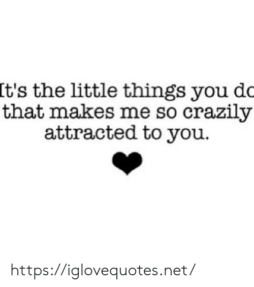 Net, You, and Href: It's the little things you dc  that makes me so crazily  attracted to you https://iglovequotes.net/