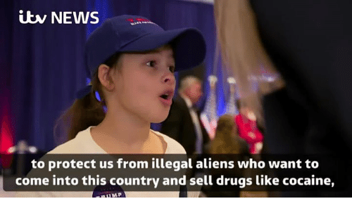 itw: itw NEWS  to protect us from illegal aliens who want to  come into this country and sell drugs like cocaine,