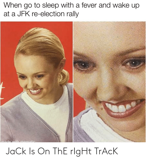Right Track: JaCk Is On ThE rIgHt TrAcK