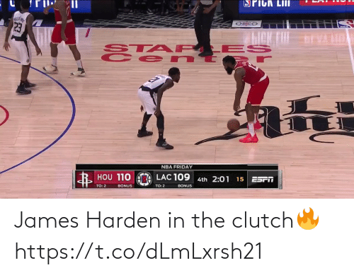 harden: James Harden in the clutch🔥 https://t.co/dLmLxrsh21