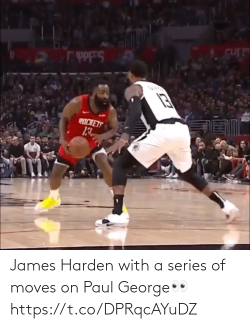 harden: James Harden with a series of moves on Paul George👀 https://t.co/DPRqcAYuDZ