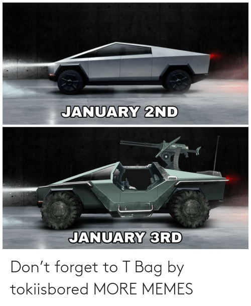 3Rd: JANUARY 2ND  JANUARY 3RD Don't forget to T Bag by tokiisbored MORE MEMES