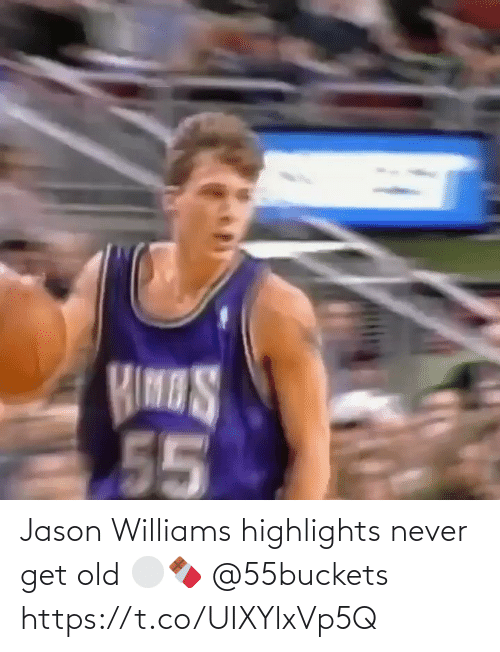 Never: Jason Williams highlights never get old ⚪️🍫 @55buckets https://t.co/UIXYlxVp5Q