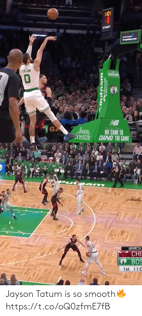 So Smooth: Jayson Tatum is so smooth🔥 https://t.co/oQ0zfmE7fB