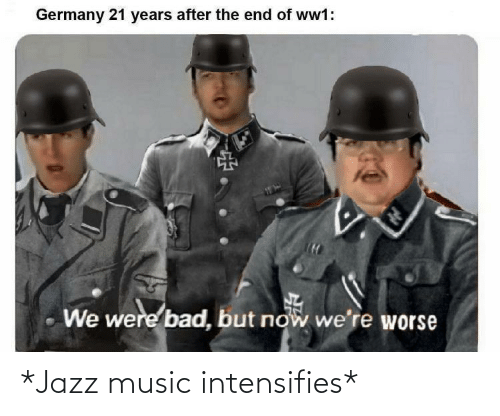 jazz: *Jazz music intensifies*