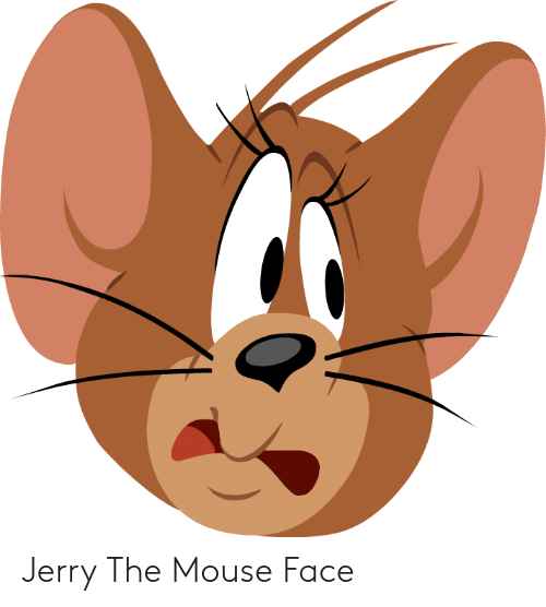 Jerry The Mouse: Jerry The Mouse Face