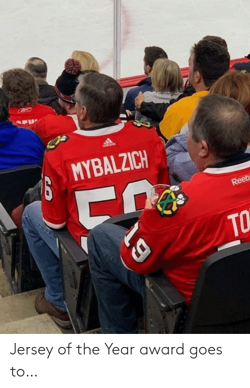 Jersey,  Year, and  Award: Jersey of the Year award goes to…