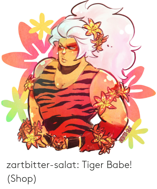 Tumblr, Blog, and Http: JMNS-NELLITAT zartbitter-salat:  Tiger Babe!  (Shop)