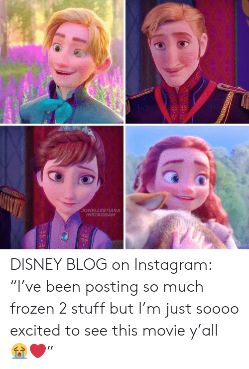 """Disney, Frozen, and Instagram: JONELLESTIARA  INSTAGRAM DISNEY BLOG on Instagram: """"I've been posting so much frozen 2 stuff but I'm just soooo excited to see this movie y'all ?❤️"""""""