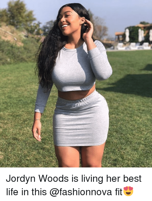 Jordyn Woods: Jordyn Woods is living her best life in this @fashionnova fit😍