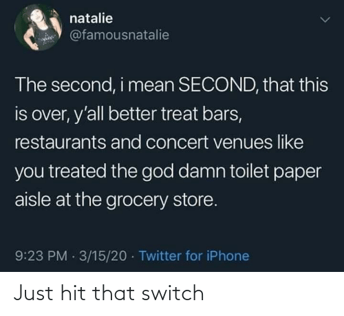 Switch, Just, and Hit: Just hit that switch