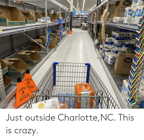 This Is Crazy: Just outside Charlotte,NC. This is crazy.