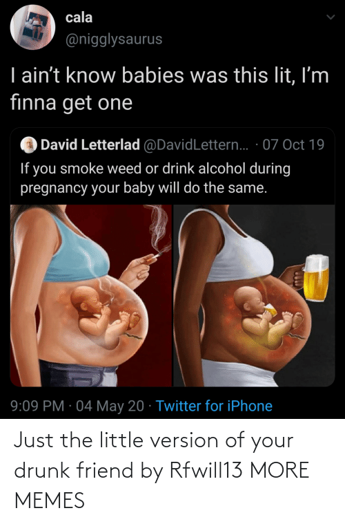 Your Drunk: Just the little version of your drunk friend by Rfwill13 MORE MEMES