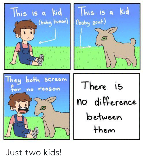 Two Kids: Just two kids!