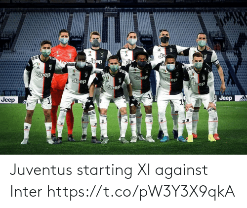 inter: Juventus starting XI against Inter https://t.co/pW3Y3X9qkA