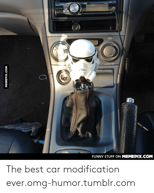 Modification: JVC  TEMP  FUNNY STUFF ON MEMEPIX.COM  MEMEPIX.COM The best car modification ever.omg-humor.tumblr.com