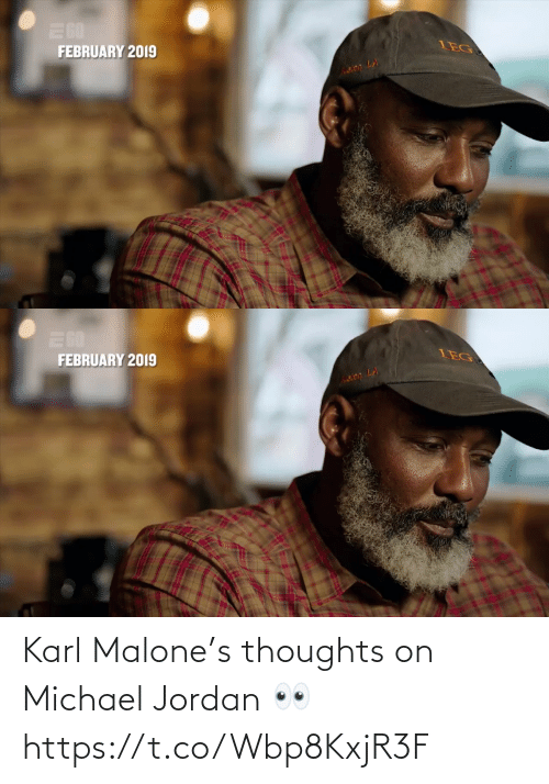 thoughts: Karl Malone's thoughts on Michael Jordan 👀 https://t.co/Wbp8KxjR3F