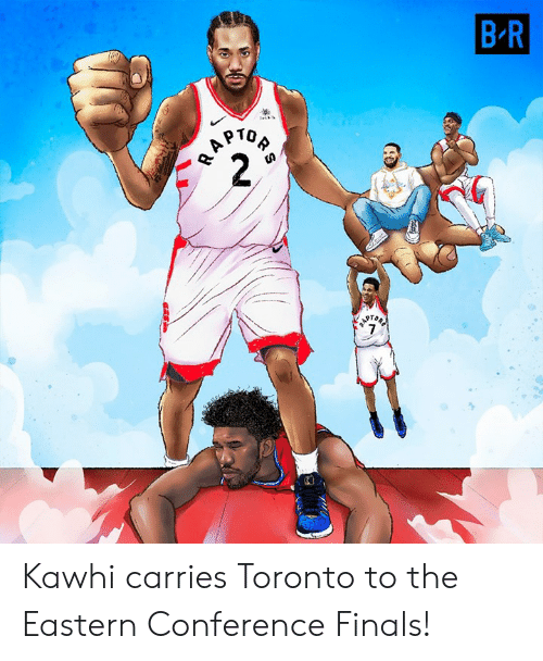 Conference Finals: Kawhi carries Toronto to the Eastern Conference Finals!