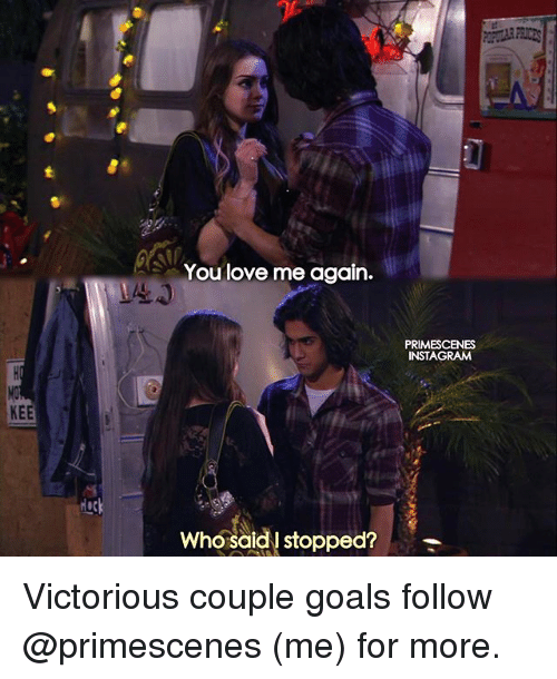 hock: KEE  Hock  You love me again.  Who said stopped?  PRIMESCENES  INSTAGRAM Victorious couple goals follow @primescenes (me) for more.