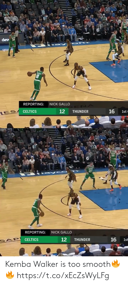 Smooth: Kemba Walker is too smooth🔥🔥 https://t.co/xEcZsWyLFg