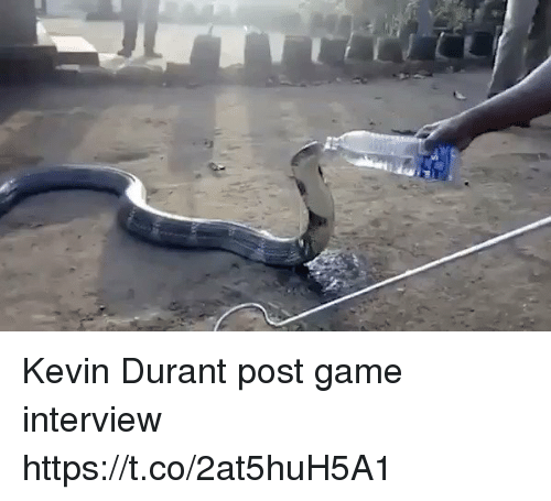 Kevin Durant, Tom Brady, and Game: Kevin Durant post game interview https://t.co/2at5huH5A1