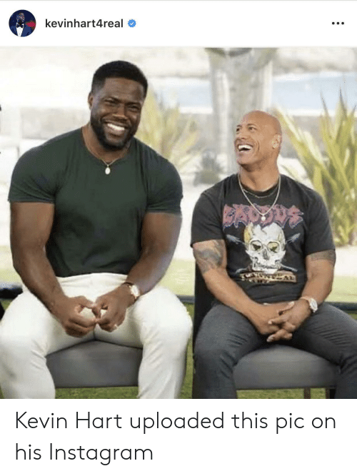 kevin: kevinhart4real Kevin Hart uploaded this pic on his Instagram