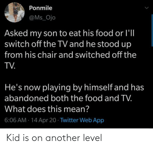 another: Kid is on another level