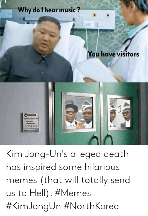 That Will: Kim Jong-Un's alleged death has inspired some hilarious memes (that will totally send us to Hell). #Memes #KimJongUn #NorthKorea