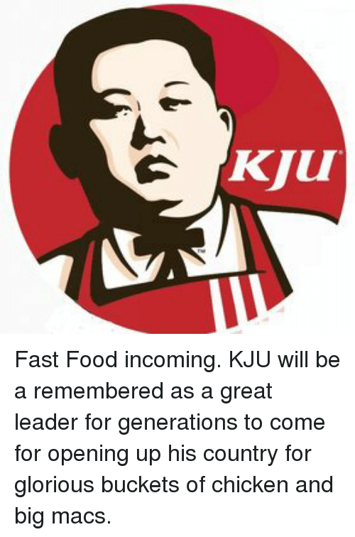 Fast Food, Food, and Chicken: KJUI