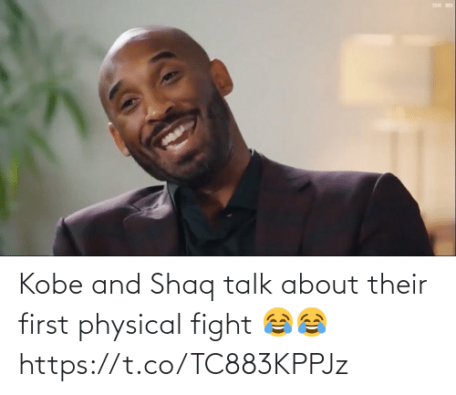 Physical: Kobe and Shaq talk about their first physical fight 😂😂   https://t.co/TC883KPPJz