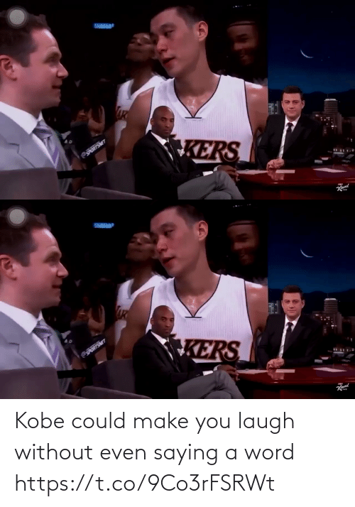laugh: Kobe could make you laugh without even saying a word https://t.co/9Co3rFSRWt
