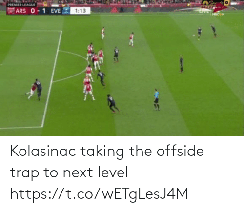 Memes, Trap, and 🤖: Kolasinac taking the offside trap to next level https://t.co/wETgLesJ4M