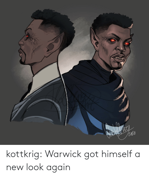 new: kottkrig:  Warwick got himself a new look again