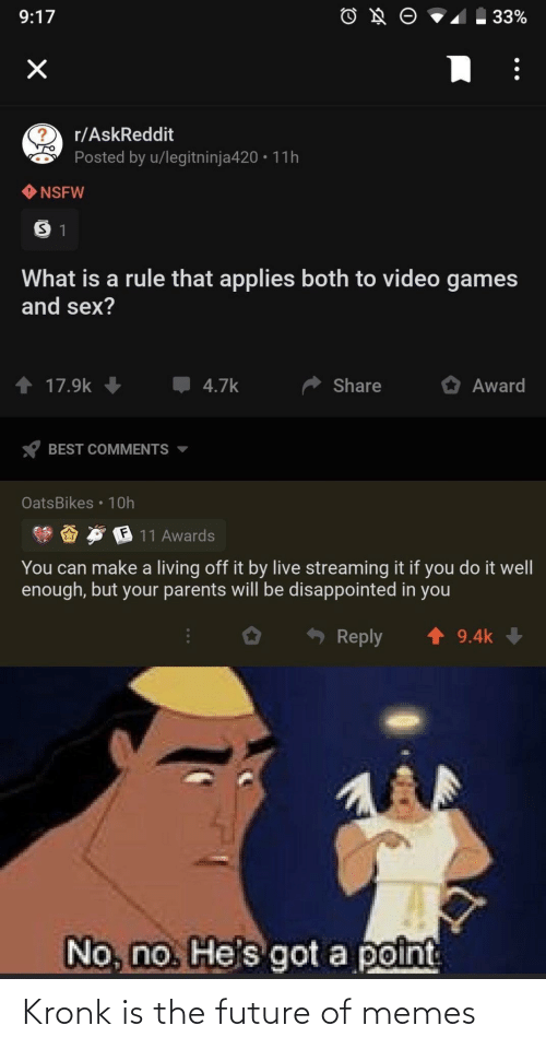 Future: Kronk is the future of memes