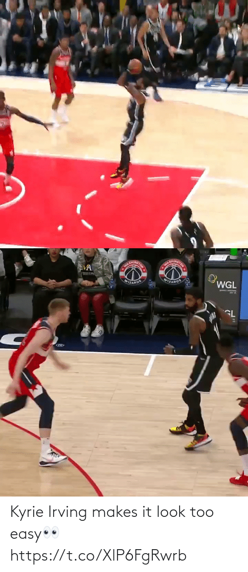 kyrie: Kyrie Irving makes it look too easy👀 https://t.co/XlP6FgRwrb