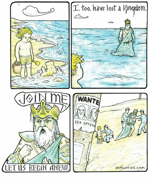 Pbfcomics Com: L, too, hve lost a Kingdom  WANT  SEX OFFEN  pbfcomics.com  LETLIS BEGİN ANEUJ