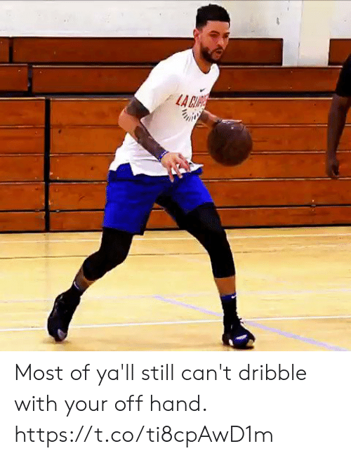 cre: LA CRE Most of ya'll still can't dribble with your off hand. https://t.co/ti8cpAwD1m