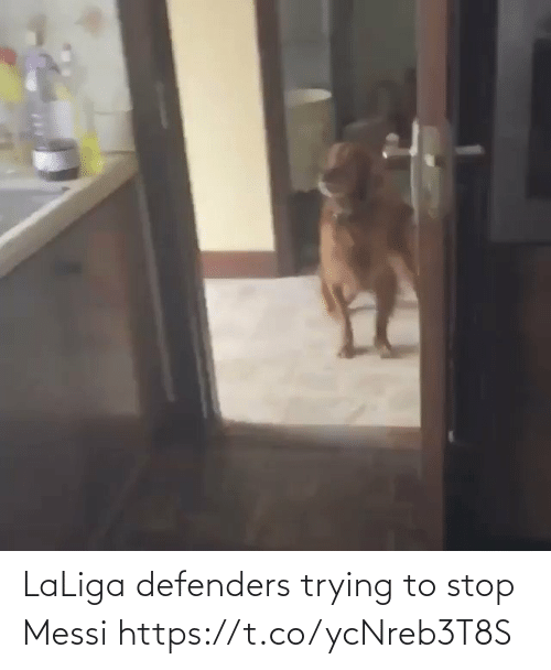 Messi: LaLiga defenders trying to stop Messi  https://t.co/ycNreb3T8S