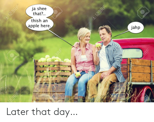 That Day: Later that day…